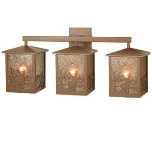 Meyda Tiffany Deer Creek 3-Light Vanity Light