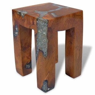 Jamarion Teak Resin Stool By Union Rustic