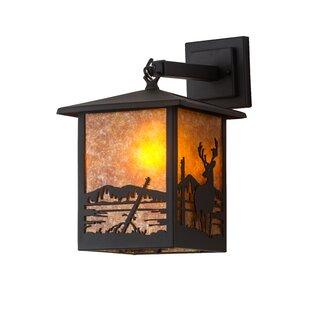 Millwood Pines Eugene Deer Creek Outdoor Wall Lantern