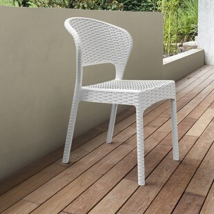 Ketterman Stacking Patio Dining Chair (Set of 2)