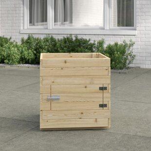 Keegan Wooden Planter Box By Freeport Park