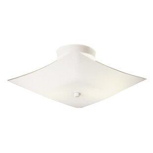 2-Light Semi Flush Mount by Design House