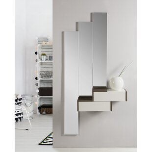 Minnesota Dressing Table With Mirror By Ebern Designs