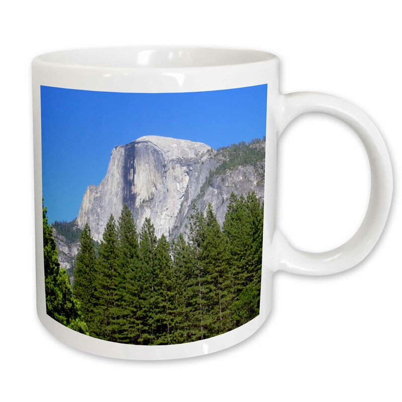 3drose Yosemite Half Dome A Beautiful Blue Sky Coffee Mug Wayfair