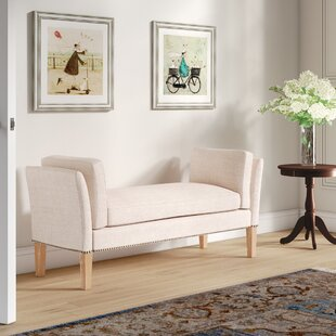 Renhold Upholstered Bench by Canora Grey