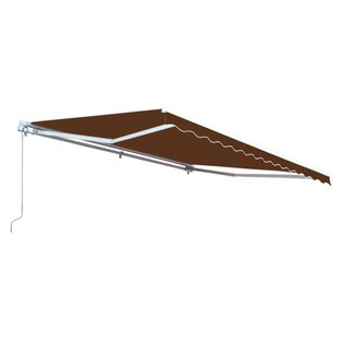 Motorized 10ft. W x 8ft. D Retractable Patio Awning by ALEKO