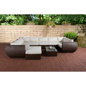5-tlg. Ecksofa-Set Brienza von dCor design