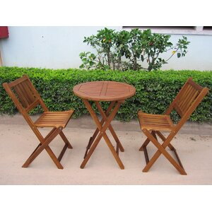 Alperin 3 Piece Bistro Set