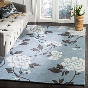 Price comparison Modern Art Blue/Ivory Rug By Safavieh