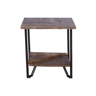 Binford Mixed Wood End Table