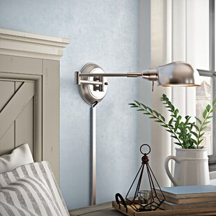 August Grove Cordelia Swing Arm Lamp