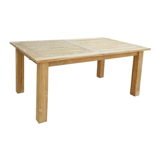Hagan Extendable Teak Dining Table By Sol 72 Outdoor
