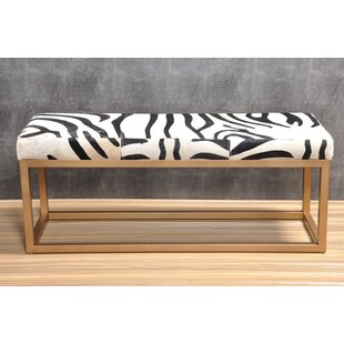 Tessa Upholstered Bench by Everly Quinn