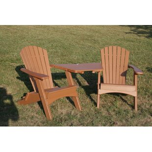 Birds Choice Perfect Choice Plastic Folding Adirondack Chair