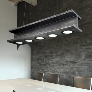 17 Stories Loaiza 5-Light Kitchen Island Pendant