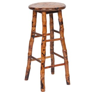 Arthur 28 Bar Stool (Set of 2) Millwood Pines