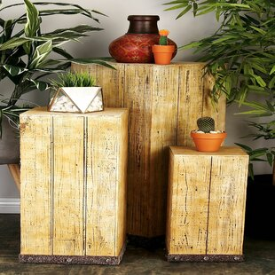 Check Prices Berenice Pedestal Plant Stand (Set of 3) By 17 Stories