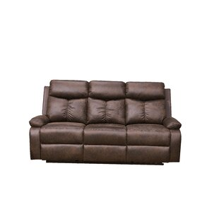 Genebern Reclining Sofa Red Barrel Studio