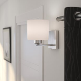 Modern Wall Sconces AllModern - Square bathroom sconce