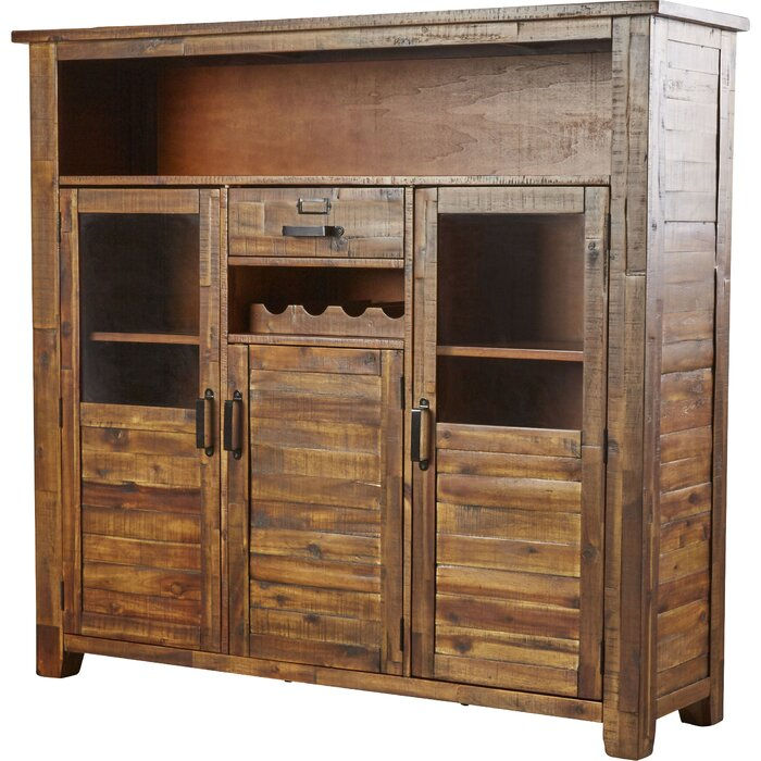Oilton Bar Cabinet With Wine Storage