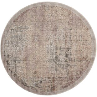 Simms Gray Area Rug by Wrought Studio