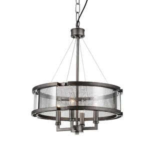 CWI Lighting Monroe 4-Light Chandelier