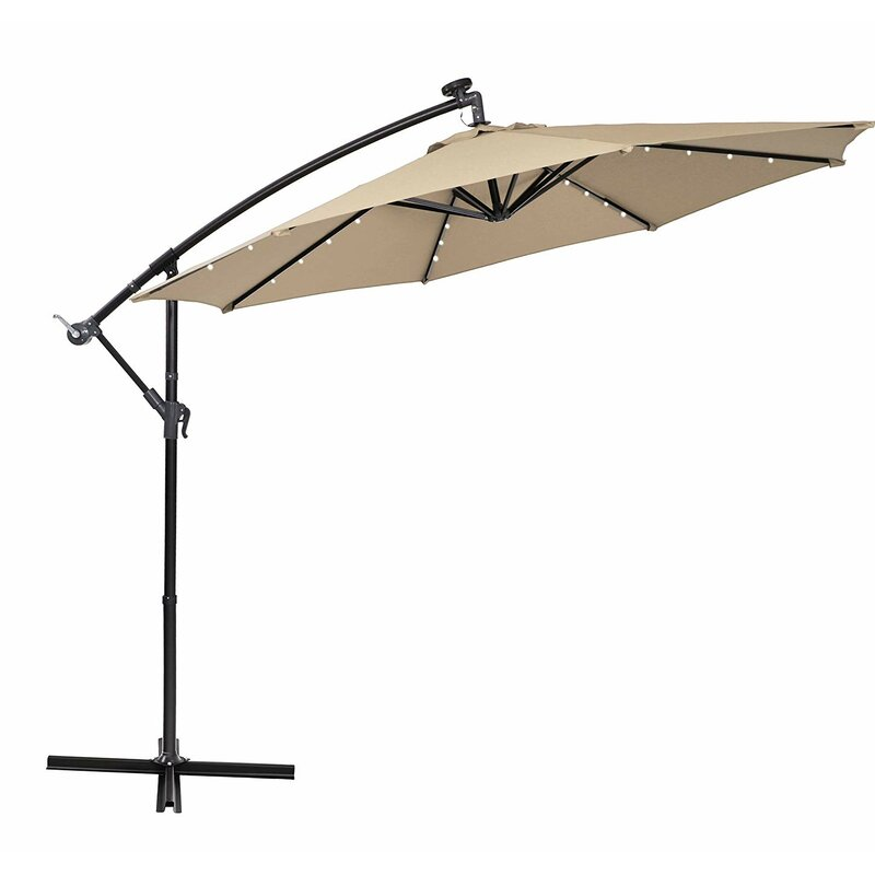 Bostic 10' Cantilever Umbrella