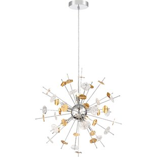 Mercer41 Oavia 6-Light Sputnik Chandelier