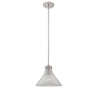 Ebern Designs Canchola 1-Light Cone Pendant