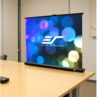 PicoScreen Series White FG 55 Diagonal Portable Projection Screen