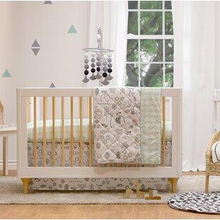 Kayden 4pc Crib Bedding Set- Elle Elephant ByLolli Living