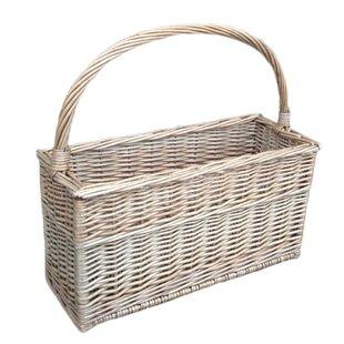 Magazine/Flask Picnic Basket By Brambly Cottage