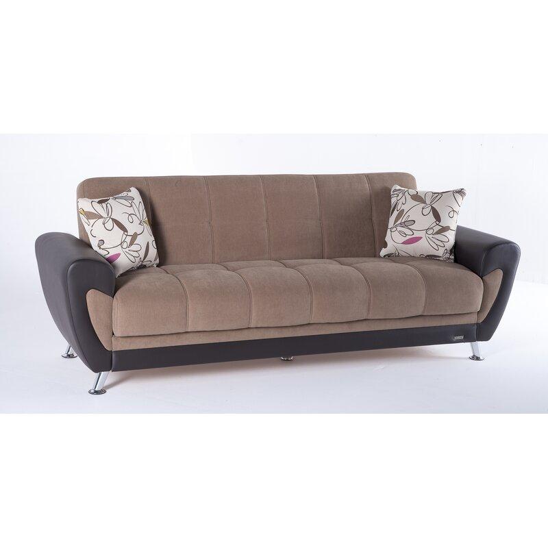 Orren Ellis Solihull 3 Seat Sleeper Plato Sofa Bed | Wayfair