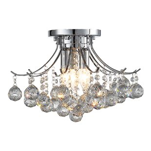 Ove Decors Warsaw 3-Light Chandelier