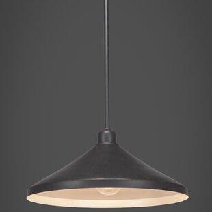 Williston Forge Kash 1-Light Cone Pendant