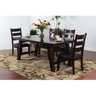 Loon Peak Midvale Solid Wood Dining Table