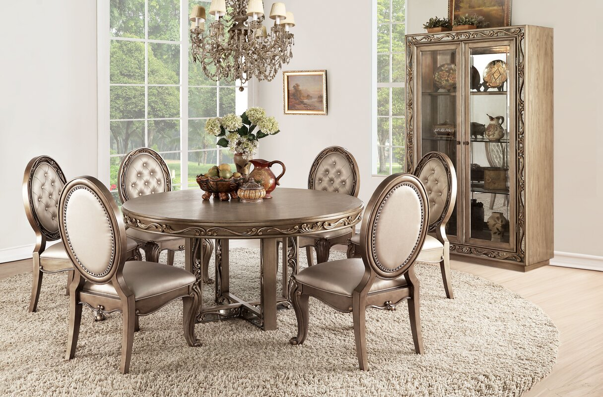 Linzy 7 Piece Dining Set