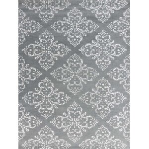 Serendipity Hand-Tufted Steel Blue Area Rug