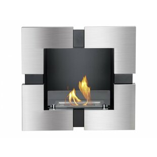 Tokyo Recessed Ventless Wall Mounted Ethanol Fireplace by Ignis Products