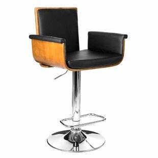 Morsun Height Adjustable Swivel Bar Stool By Corrigan Studio
