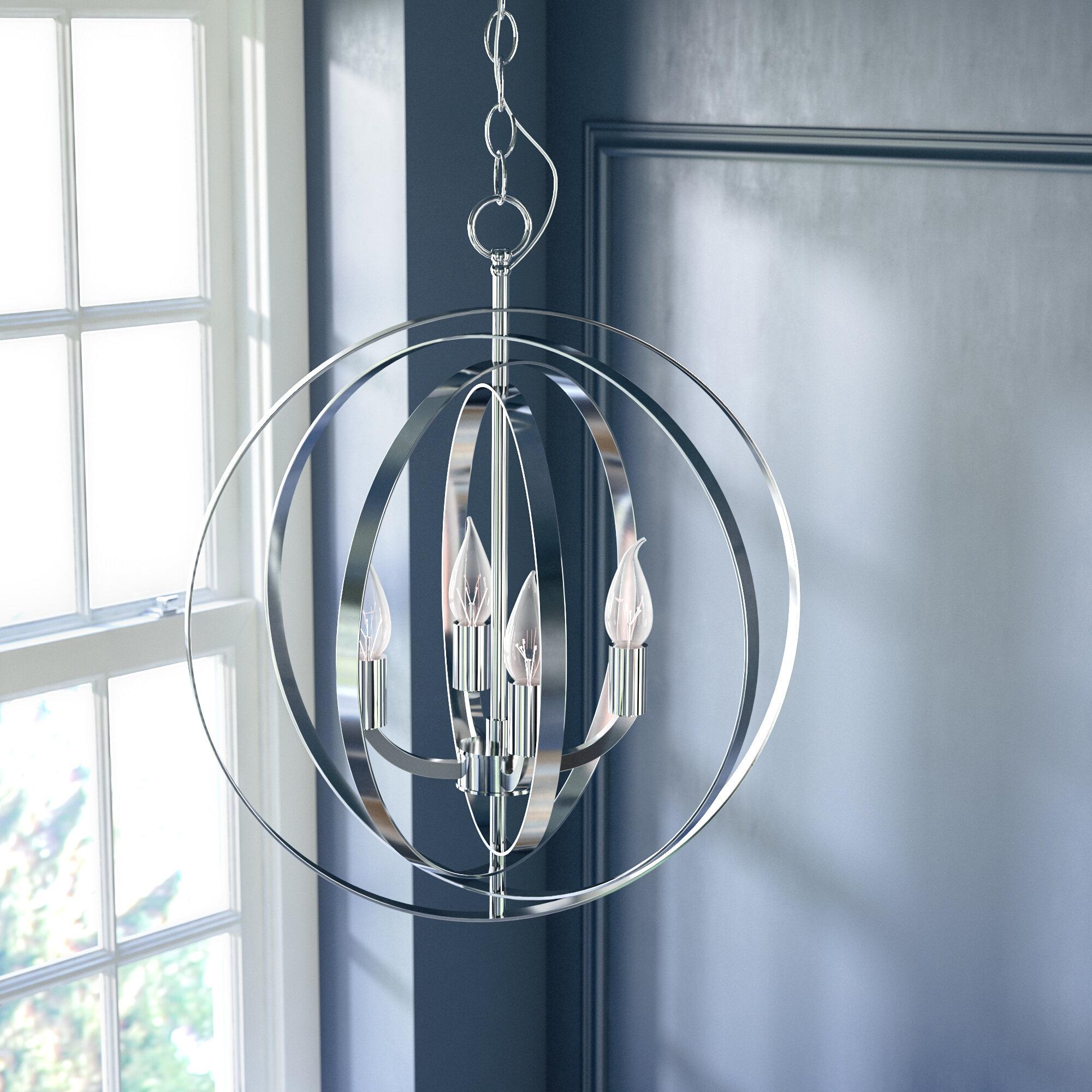 Willa arlo interiors hendry 4 light chandelier reviews wayfair