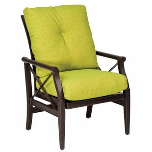 Andover Rocking Patio Dining Chair with Cushion