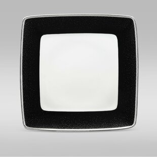 Pearl Noir 7.5  Small Square Plate & Small Square Plates | Wayfair