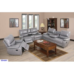 Compare Jossi PU 3 Piece Reclining Living Room Set by Latitude Run Reviews (2019) & Buyer's Guide
