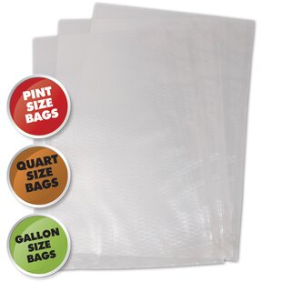 Vacuum Sealer Bag, Variety Pack (Set of 50)