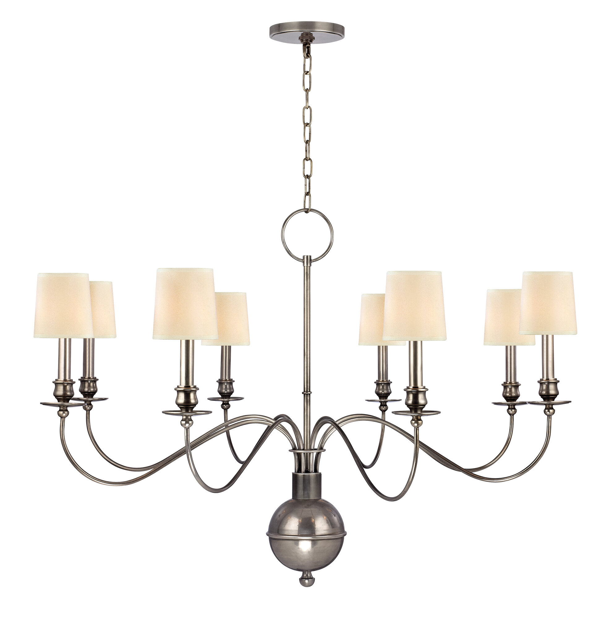 Darby Home Co Erby 8 Light Shaded Classic Traditional Chandelier Wayfair