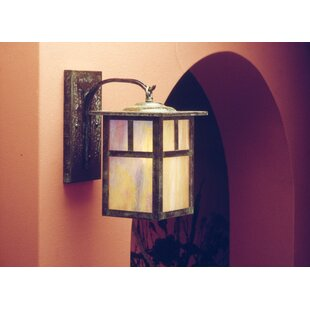 Top Reviews Mission 1-Light Outdoor Wall Lantern By Arroyo Craftsman