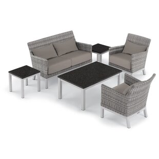 Saint-Pierre 6 Piece Sofa Seating Group with Cushions