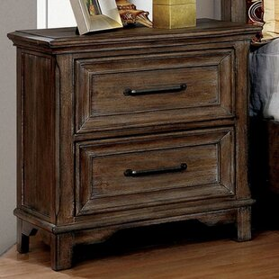 Purchase Grote 2 Drawer Nightstand by Loon Peak