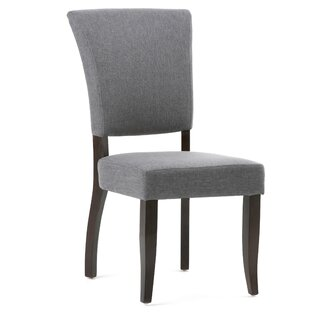 Alemany Deluxe Upholsered Dining Chair (Set of 2) by Alcott Hill SKU:BD588274 Purchase